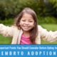 5 Important Points You Should Consider Before Opting for an Embryo Adoption