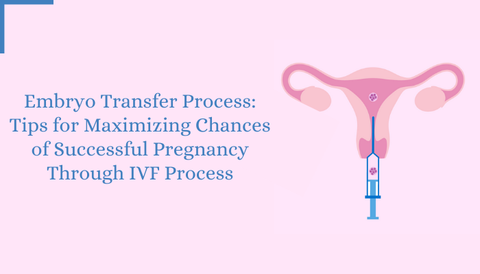 Embryo Transfer Process Tips for Maximizing Chances of Successful Pregnancy Through IVF Process